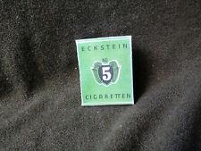 Eckstein Zigaretten cigarettes empty box WK2 WW2 German Army rations Wehrmacht