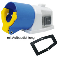 Einspeisedose Gerätesteckdose Schuko Einspeise Dose IP 54 Klinger & Born