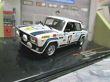 LADA 2105 VFTS 1983 Swedish Schweden Rallye #12 Brundza RAC295 IXO NEU 1:43