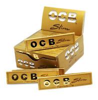 Original Ocb Premium Gold Fina Papeles de Liar 5 Cuadernillos