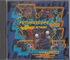 Futurescope 002 -Rave Attack ! Tek Jam & X-Ntric CD -Best Of Hard Trance/Acid