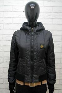 Giubbotto Donna RefrigiWear Taglia XS Giubbino Nero Giacca Jacket Woman Black