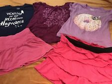 Lot of 5 Girls Clothes size 10-12 Summer/Fall CP Cherokee Justice Skirts & Tops