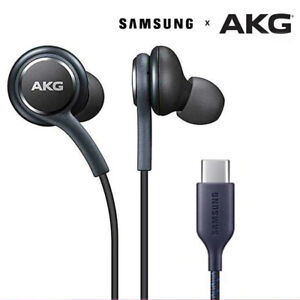 Samsung Type-c Earphone USB AKG Earbuds Wired In-ear Headphones  Stereo Cable