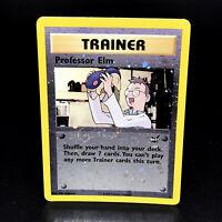 Professor Elm Reverse Holo Best of Game WoTC Promo 3 Rare Pokemon Card 2003 NM