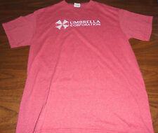 Resident Evil shirt size Medium M Umbrella Corporation Capcom Video Game Zombies