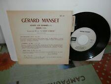 """Gerard Manset""""vivent les hommes""""single7""""or.FR.promo.pathé:sp71.de 1970.languette"""