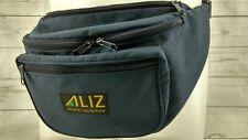 Vintage Aliz Zip Up Fannie Fanny Pack Climbing Hiking Blue Adjustable Strap
