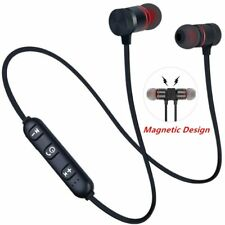 Magnetic Bluetooth Earphone Sports Neckband Magnetic Wireless Gaming Headset