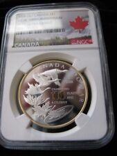 **2008**RCM Centennial, NGC Graded Canadian Silver Dollar**PF-69 UC**