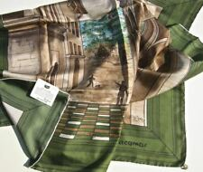 Jacqmar Silk Scarf Toninelli Old Masters Series Not Worn with Tag- Rare & Lovely