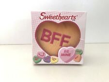 McDonalds Happy Meal Sweethearts BFF Plush Heart Orange Valentines Toy NEW