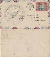 US 1930 CAM 34 FIRST FLIGHT FLOWN COVER NEW YORK TO LOS ANGELES