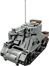 CUSTOM building INSTRUCTION GRANT TANK battle tank to build out of LEGO® parts