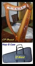 """CP BRAND NEW 27 STRING 39"""" HIGH HARP WITH LEVERS FREE CARRY BAG & SHIP IN USA"""