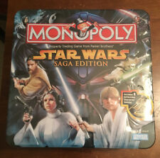 Star Wars Saga Edition Monopoly Game - LIMITED EDITION TIN - sealed in 2005!
