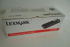 Lexmark E210 Black Printer Toner Cartridge 2K-Page Yield Optra E210 10S0150 NEW