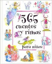 Not Available (Na) 365 Cuentos y Rimas Para Ninas 365 Stor
