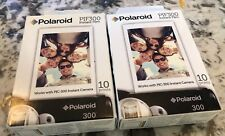 New In Box Lot of 2 Polaroid Pif300 Instant Film Replacement Prints 10 prints x2