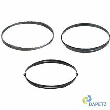 """1425mm (56"""") Bandsaw Blades 6, 10 & 14 TPI for Cutting Metal Plastic Wood 3 Pack"""