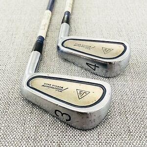 Bridgestone J's Titanium Muscle Back 3/4-irons. Stiff Graphite # T541