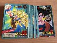 Carte Dragon Ball Z DBZ Super Battle Part 15 #Reg Set BANDAI 1995 MADE IN JAPAN