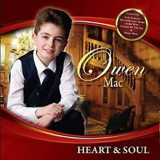 Heart & Soul CD by Owen Mac 2017 New/Coleraine/Derry/Ireland/Country Music Irish