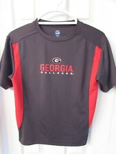90b41b4782c1 Youth NCAAGeorgia Bulldogs Short Sleeve T Shirt Charcoal Grey/Red Sz 10/12 (