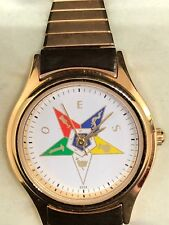 Vintage Jules Jurgensen Order of Eastern Star Watch Masonic Wristwatch New w Box