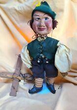 Vintage marionette string puppet