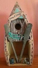 Gone Fishing Bird House