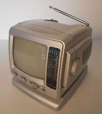 tv portatile 5,5 pollici vintage, non testata