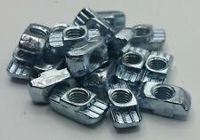 Hammermutter,  Nut 10 M4,M5,M6,M8, Gleitstein für Aluprofile