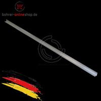 1m Aluminiumprofil Aluprofil silber eloxiert (L) 10mm x 10mm x 1,8mm x 1000mm