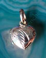 Anhänger Herz zum Öffnen Sterling Silber 925 verziert Symbol der Liebe