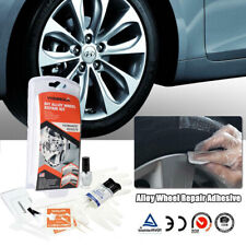 5 Minutes Car Wheel Repair Adhesive Paint Fix Tool Rim Dent Scratch Care Kit