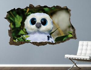 Hatchimals White wall decals stickers mural home decor for bedroom Art AH694