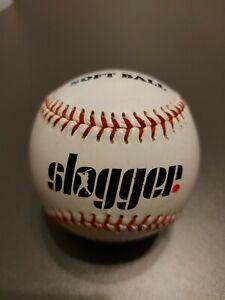 """9"""" Soft Ball - Slogger Base Ball BaseBall Softball - Rubber & Sponge Core"""