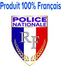 STICKERS Autocollant POLICE NATIONALE, patch, écusson pare-brise voiture