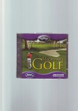MICROSOFT GOLF 1998 EDITION - WINDOWS 95/98 PC GAME - JC EDITION - FAST POST