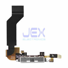 White Charging Port/dock Mic/Microphone Flex Cable for Iphone 4S/4GS