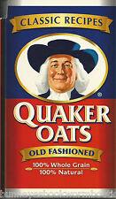 QUAKER OATS Cookbook NEW Recipes MAIN DISHES Breakfast DESSERTS Cookies FUN FOOD