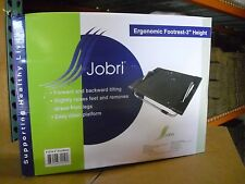"Jobri 3"" Ergonomic Under-Desk footrest for your home or office chair F1210"