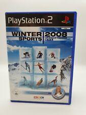 Playstation 2 PS2 Spiel RTL Winter Sports 2008 in OVP mit Anleitung