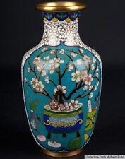 China 20. Jh. -A Small Chinese Ovoid Cloisonne Enamel Vase - Vaso Cinese Chinois