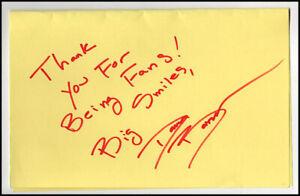 Dana Barron Audrey National Lampoons Vacation Hand Signed Autograph Card & COA