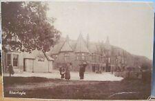 Scottish Postcard Aberfoyle Victorian Hotel Tourists Trossachs Scotland Uk