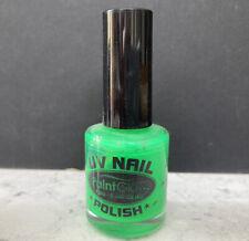 UV Green Nail Polish by Paintglow for Halloween - 10ml/.34fl.oz - FREE POSTAGE