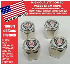 4 Chrome Mazda  RX8  RX 8 Wankel Rotary Engine 12A 13B Valve Stem Caps