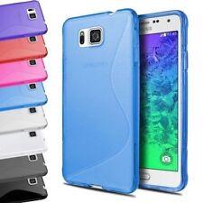 Étuis, housses et coques avec clip transparents Samsung Galaxy Alpha pour téléphone mobile et assistant personnel (PDA)